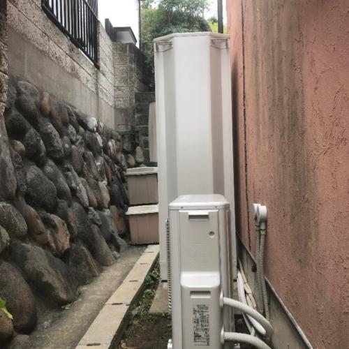 ダイキンエコキュートEQ46GFVから日立エコキュートBHP-F46SU|エコキュート交換工事|神奈川県鎌倉市津