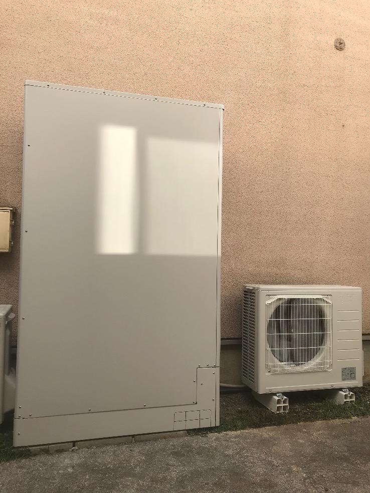 三菱エコキュートSRT-HP37WZ4からMITSUBISHIエコキュートSRT-W375Z|エコキュート交換工事|東京都八王子市鑓水|ヤマト住建