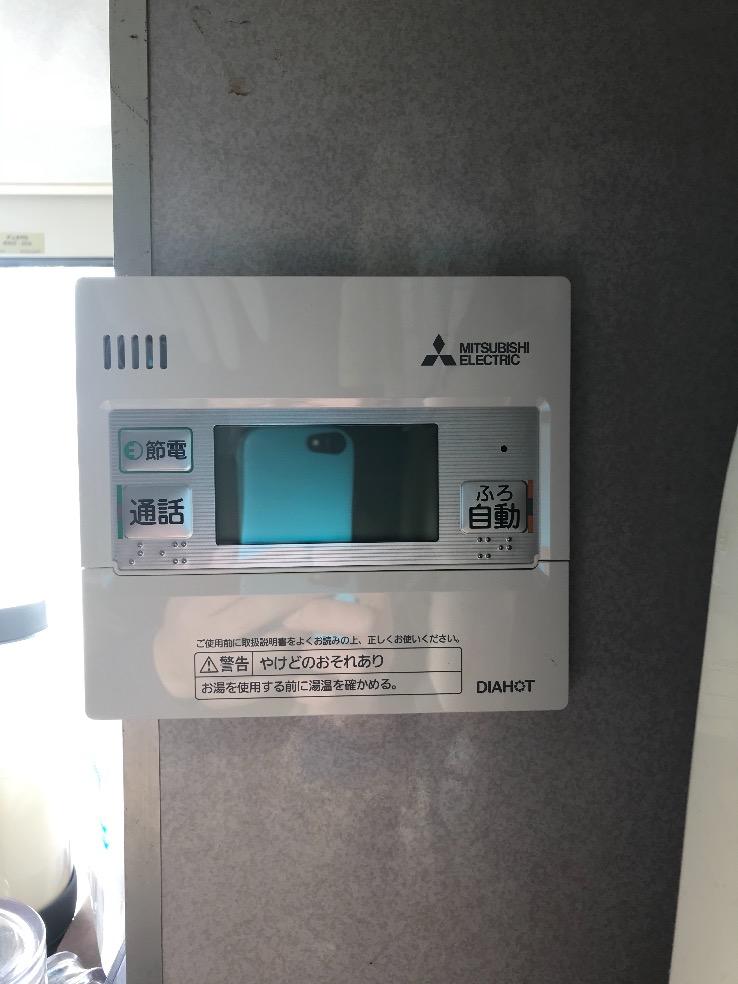 長州産業エコキュートHP-463GSZから三菱エコキュートSRT-W465|エコキュート交換工事|千葉県市川市曽谷