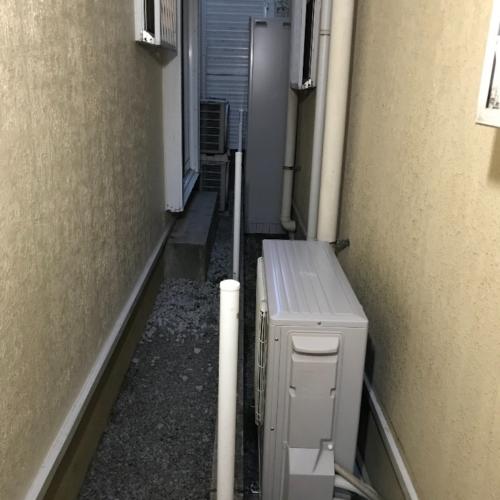 ナショナルエコキュートHE-46W3QUSからMITSUBISHIエコキュートSRT-S375UZ|エコキュート交換工事|東京都葛飾区東金町|