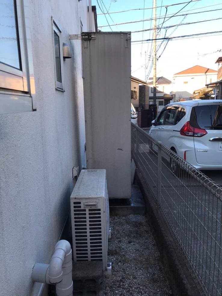 サンデンエコキュートEB-37QTAから三菱エコキュートSRT-S375U エコキュート交換工事 東京都国分寺市日吉町 