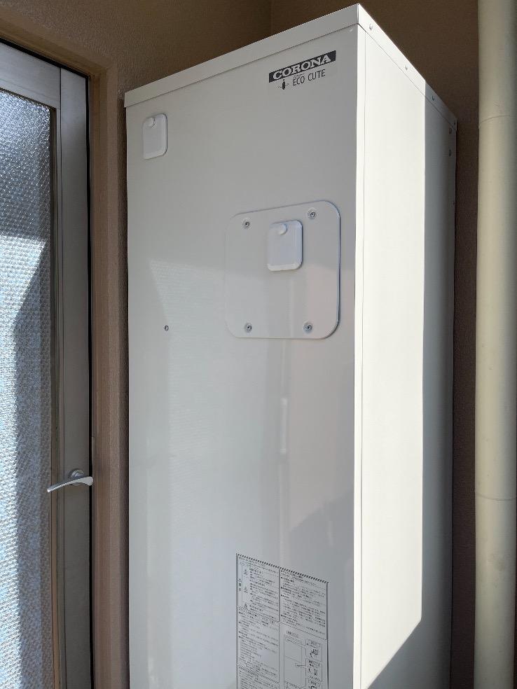 コロナエコキュートCHP-H3014AからコロナエコキュートCHP-S30AY1-12|エコキュート交換工事|千葉県佐倉市鏑木町|マンション|テラス佐倉|