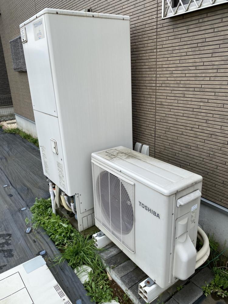東芝エコキュートHWH-FB371CTから三菱エコキュートSRT-S375|エコキュート交換工事|千葉県市原市うるいど南|