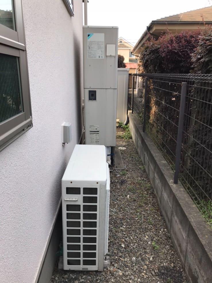 ダイキンエコキュートEQ37HFTVから三菱エコキュートSRT-W375Z|エコキュート交換工事|神奈川県座間市座間