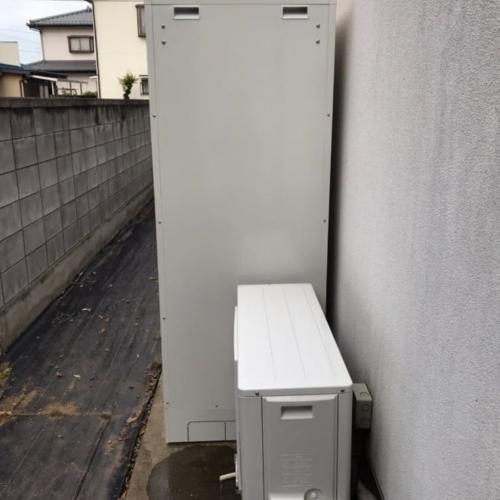 コロナエコキュートCHP-H4614ATからコロナエコキュートCHP-46ATX3|エコキュート交換工事|群馬県太田市末広町|床暖房一体型